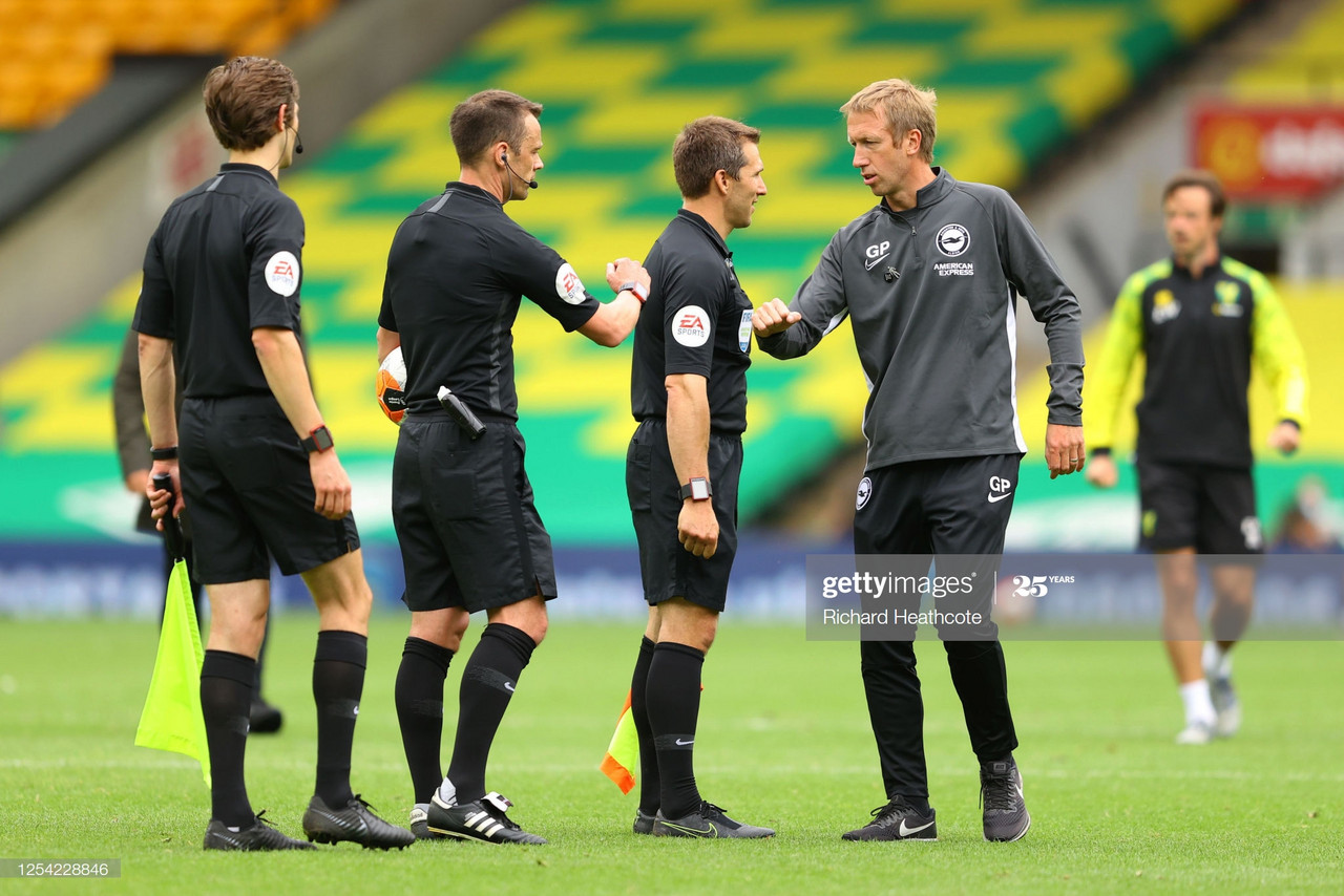 "Graham Potter: ""We have to make sure we retain our top flight status"""