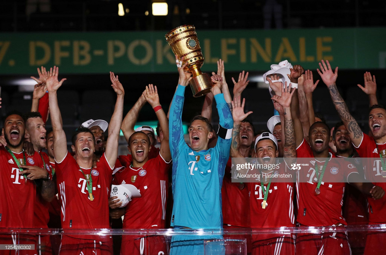 DFB Pokal Final: Bayer Leverkusen 2-4 Bayern Munich: Munich dominate in cup classic