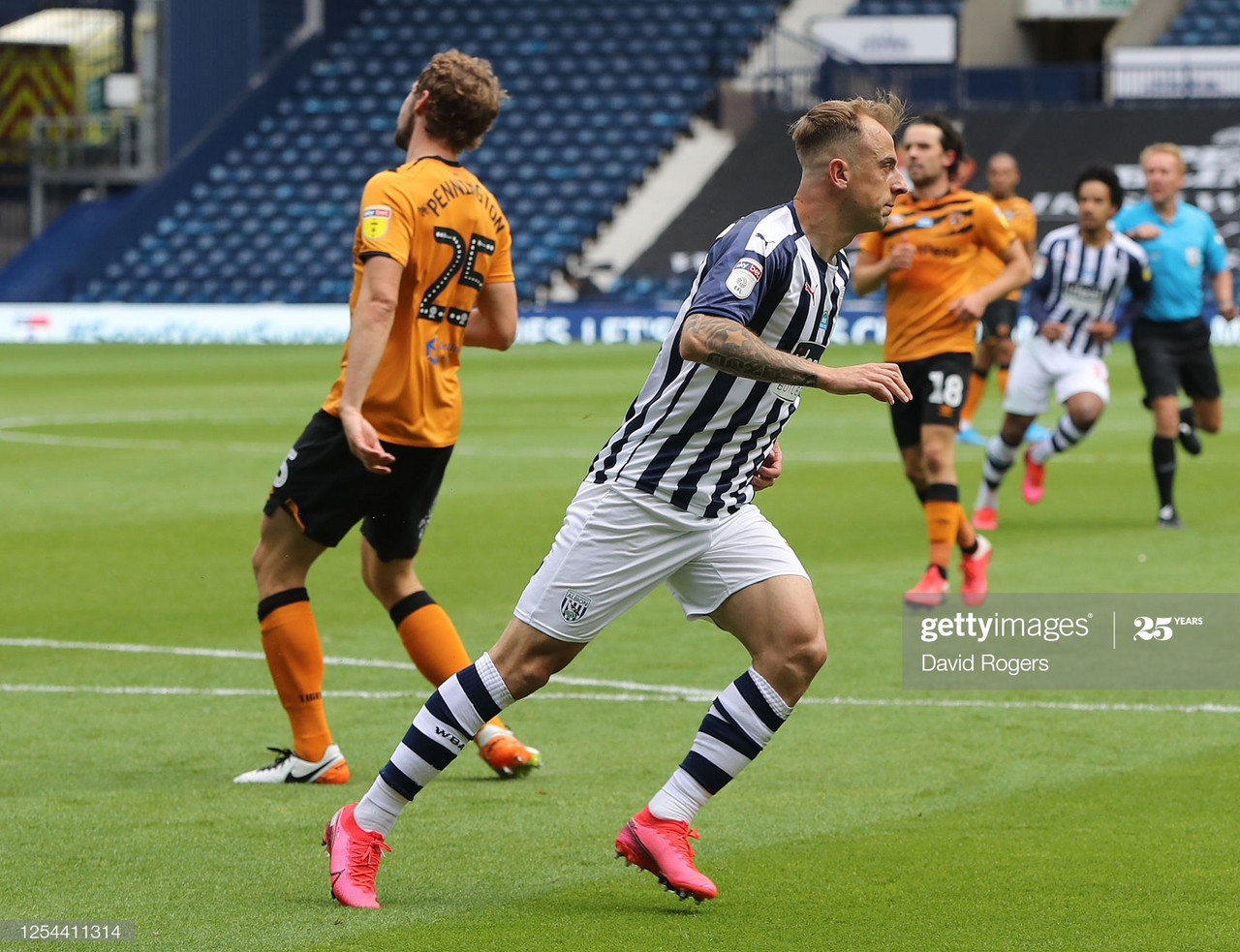 West Brom 4-2 Hull City: Baggies too hot to handle for the Tigers