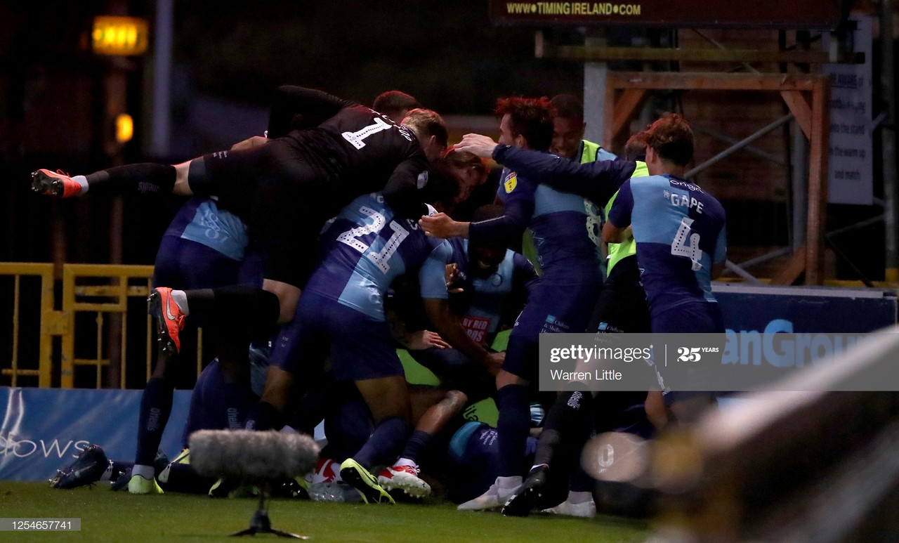 Wycombe Wanderers 2-2 Fleetwood Town: Chairboys headed to Wembley after draw
