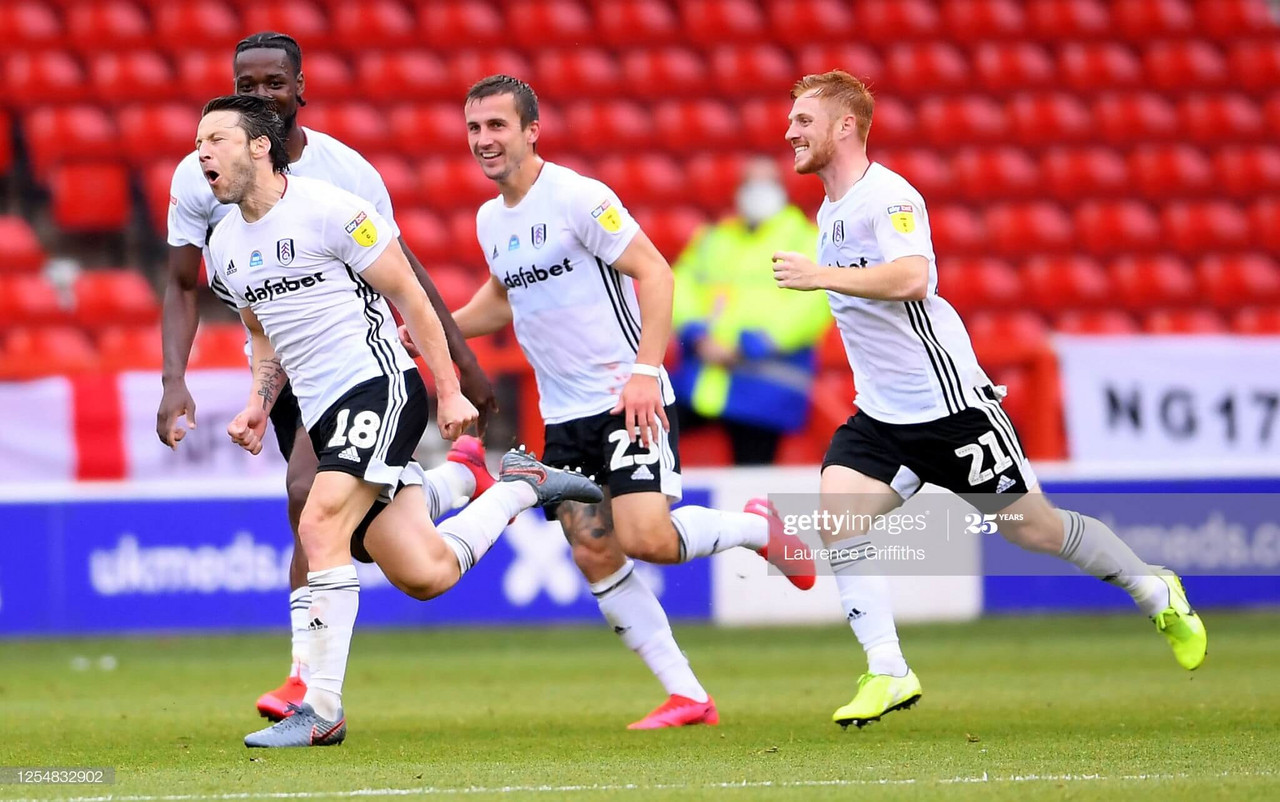 Nottingham Forest 0-1 Fulham: Arter wonder strike keeps Cottagers automatic promotion hopes alive