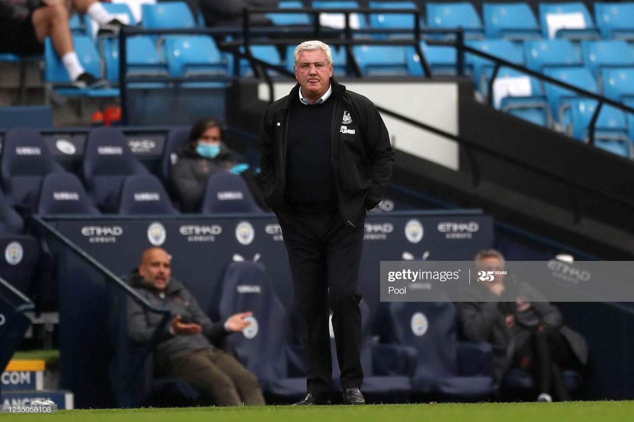 """Steve Bruce admits Newcastle United made it """"too easy"""" for Manchester City"""