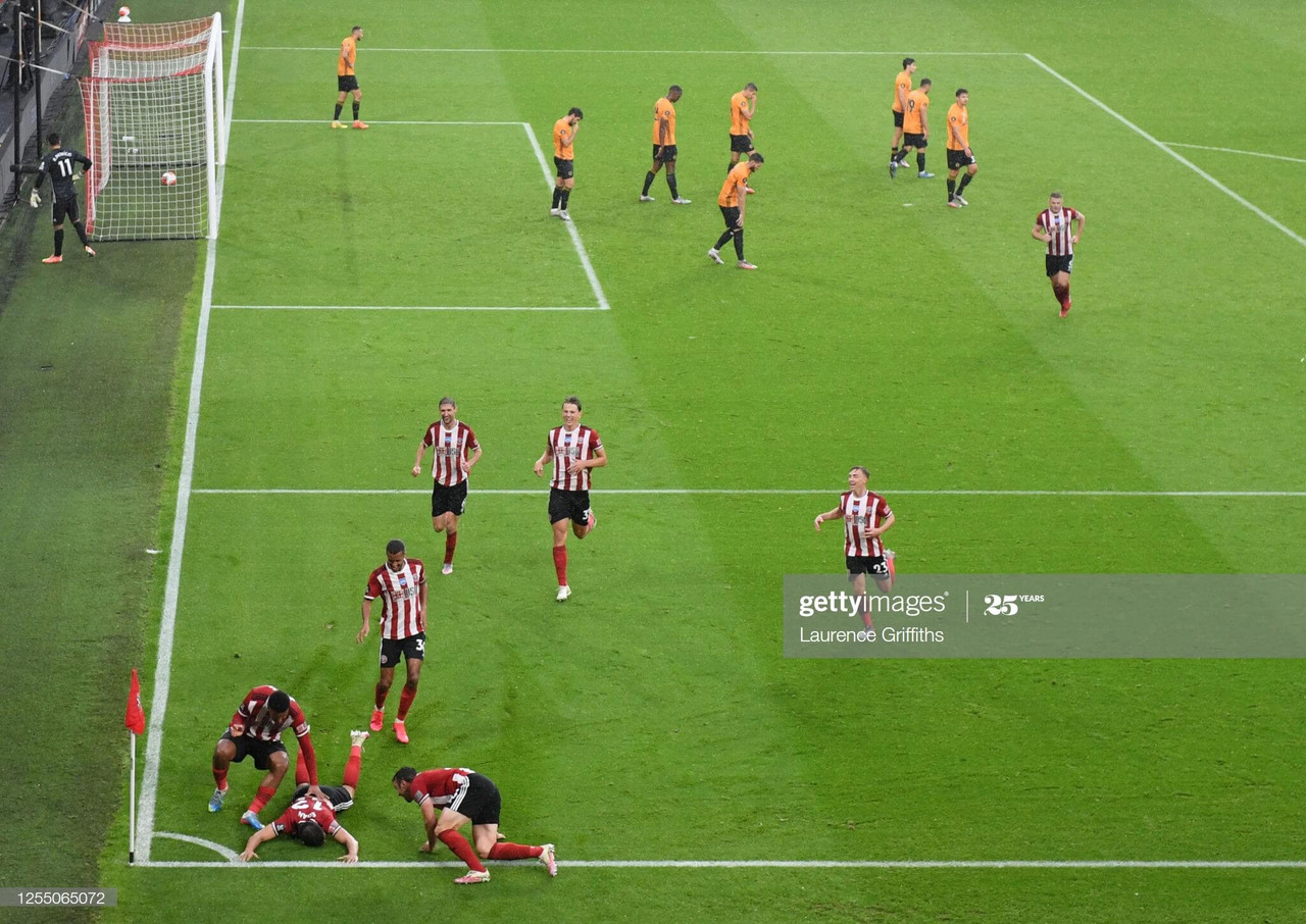 Sheffield United 1-0 Wolves: Egan makes mark in the battle for Europe