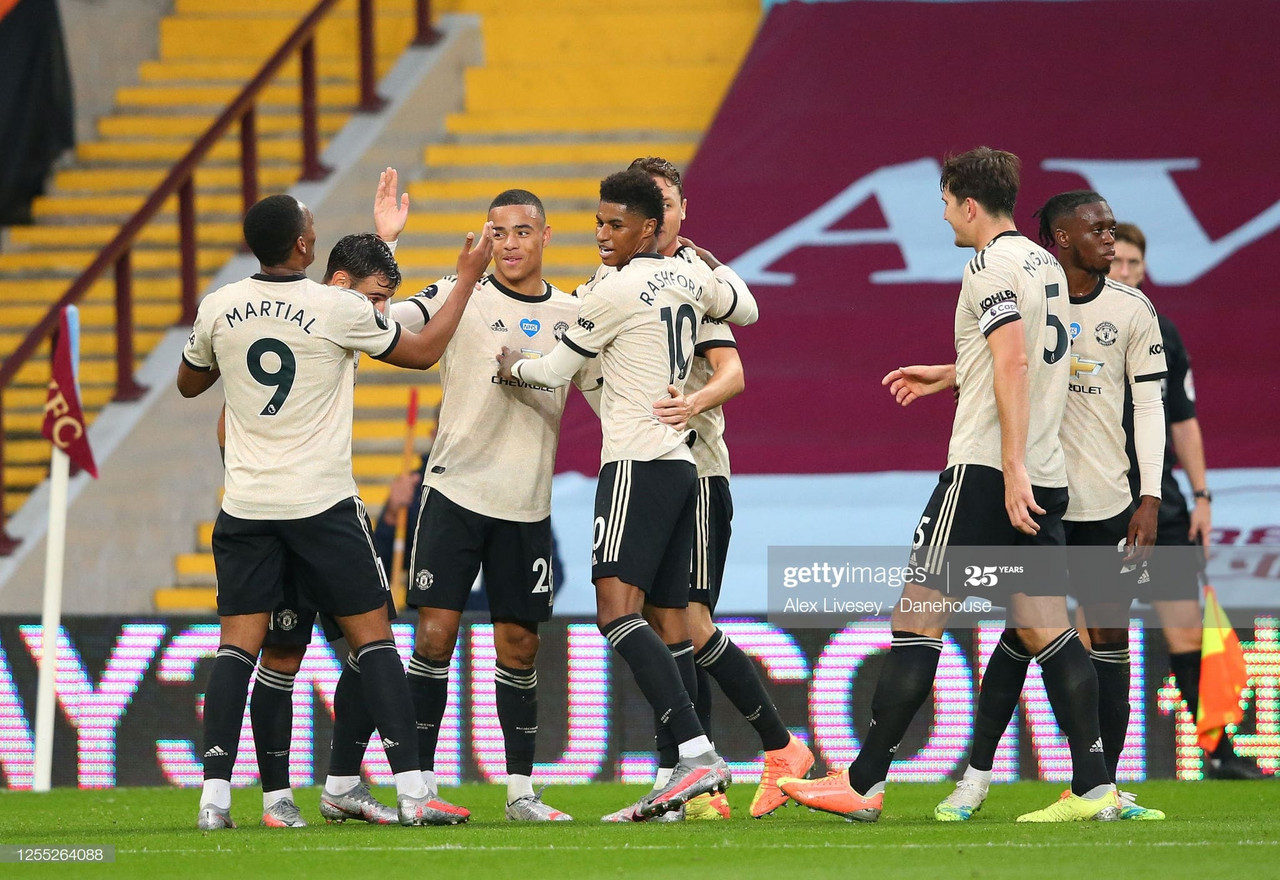 Aston Villa 0-3 Manchester United: Red Devils run rampant at Villa Park