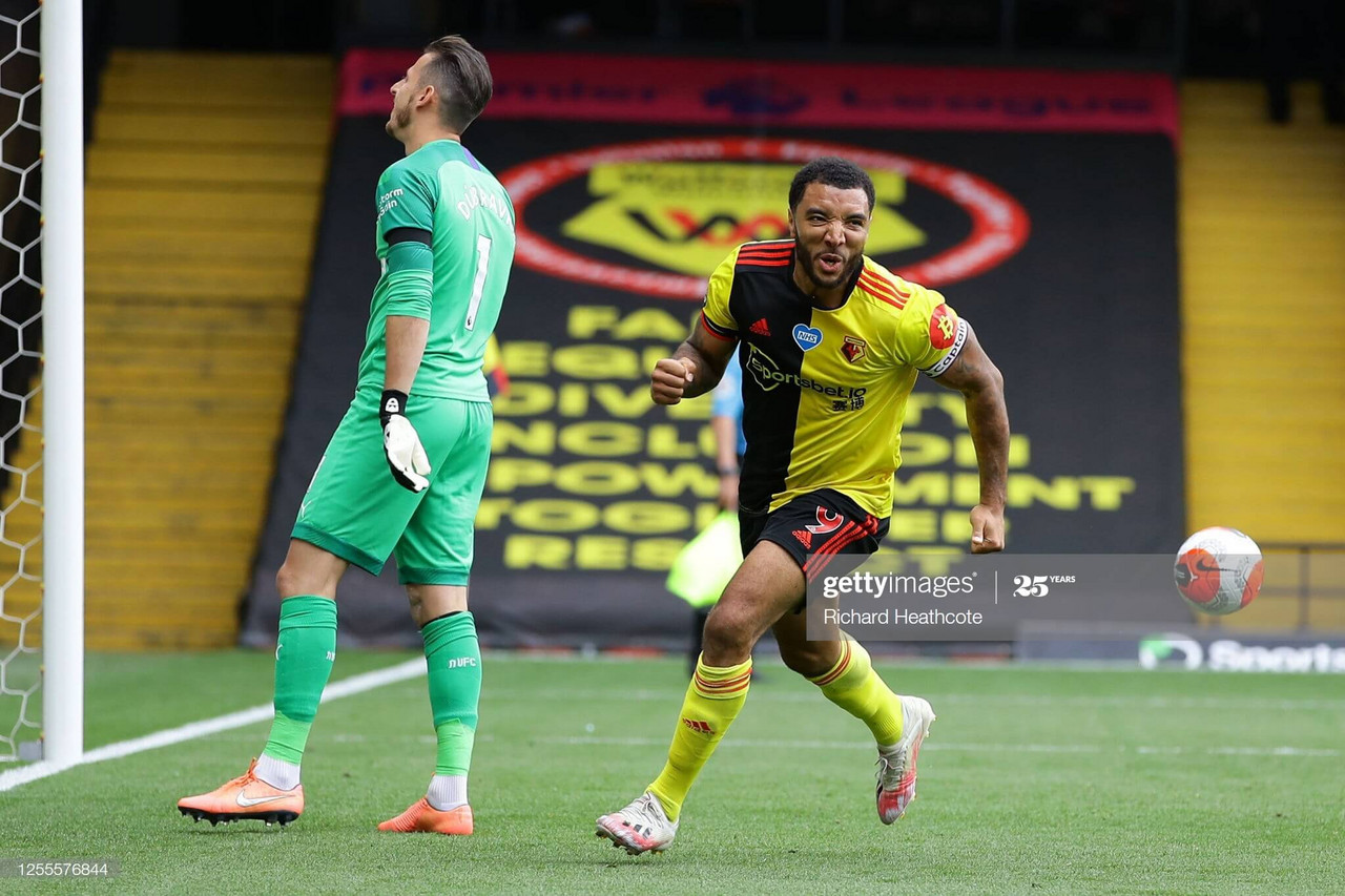 Watford 2-1 Newcastle United: Deeney double gives Hornets a vital win