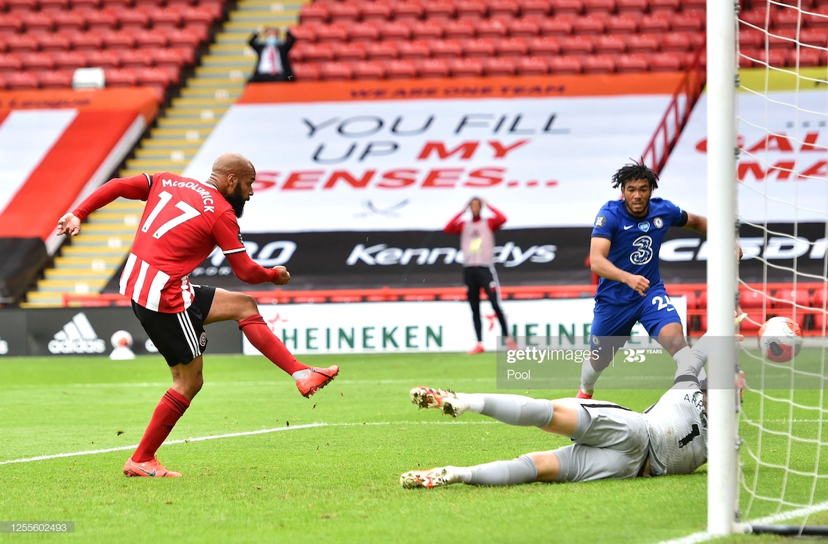 Sheffield United 3-0 Chelsea: A Premier League first and second for McGoldrick