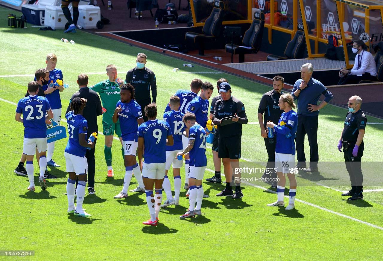 Carlo Ancelotti calls on his Everton team to turn around their fortunes against Aston Villa