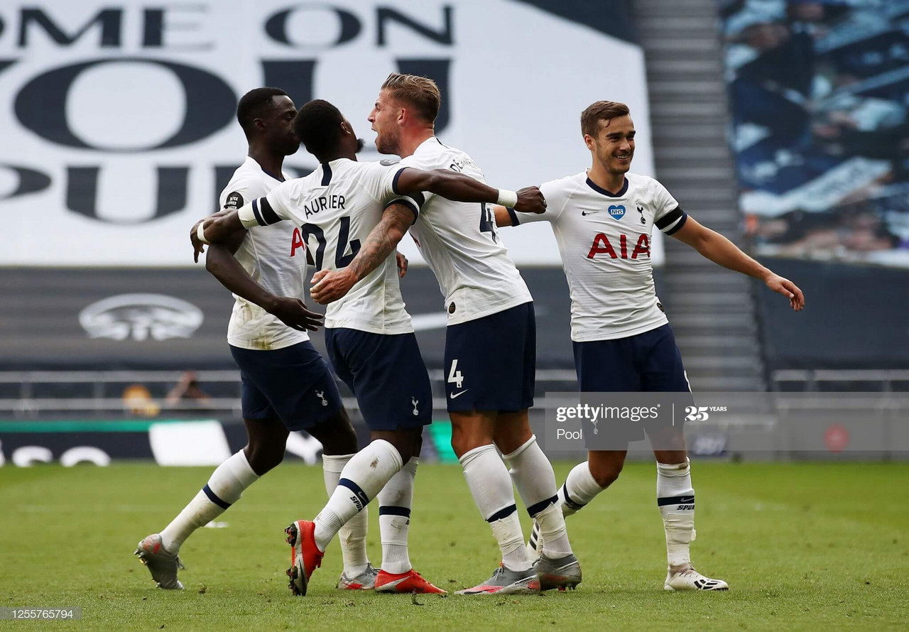 Tottenham Hotspur 2-1 Arsenal: Alderweireld header settles North London derby
