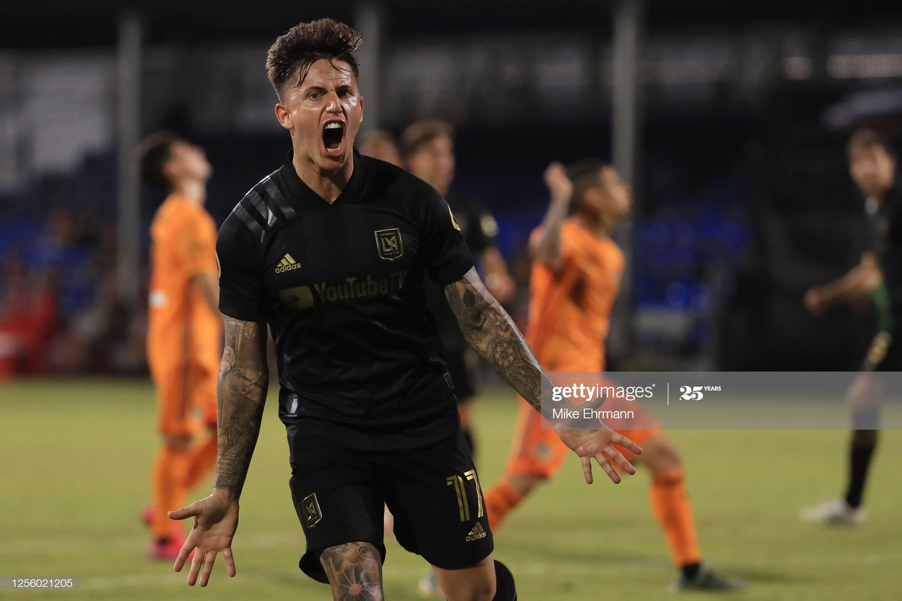 LAFC 3-3 Houston Dynamo: LA hit back to draw in six goal thriller