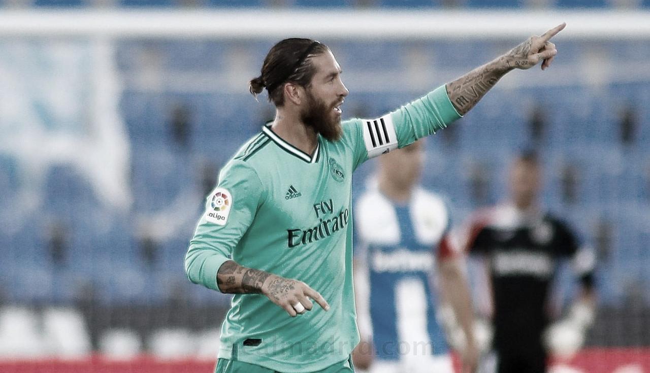 Sergio Ramos, el central más goleador de la era contemporánea