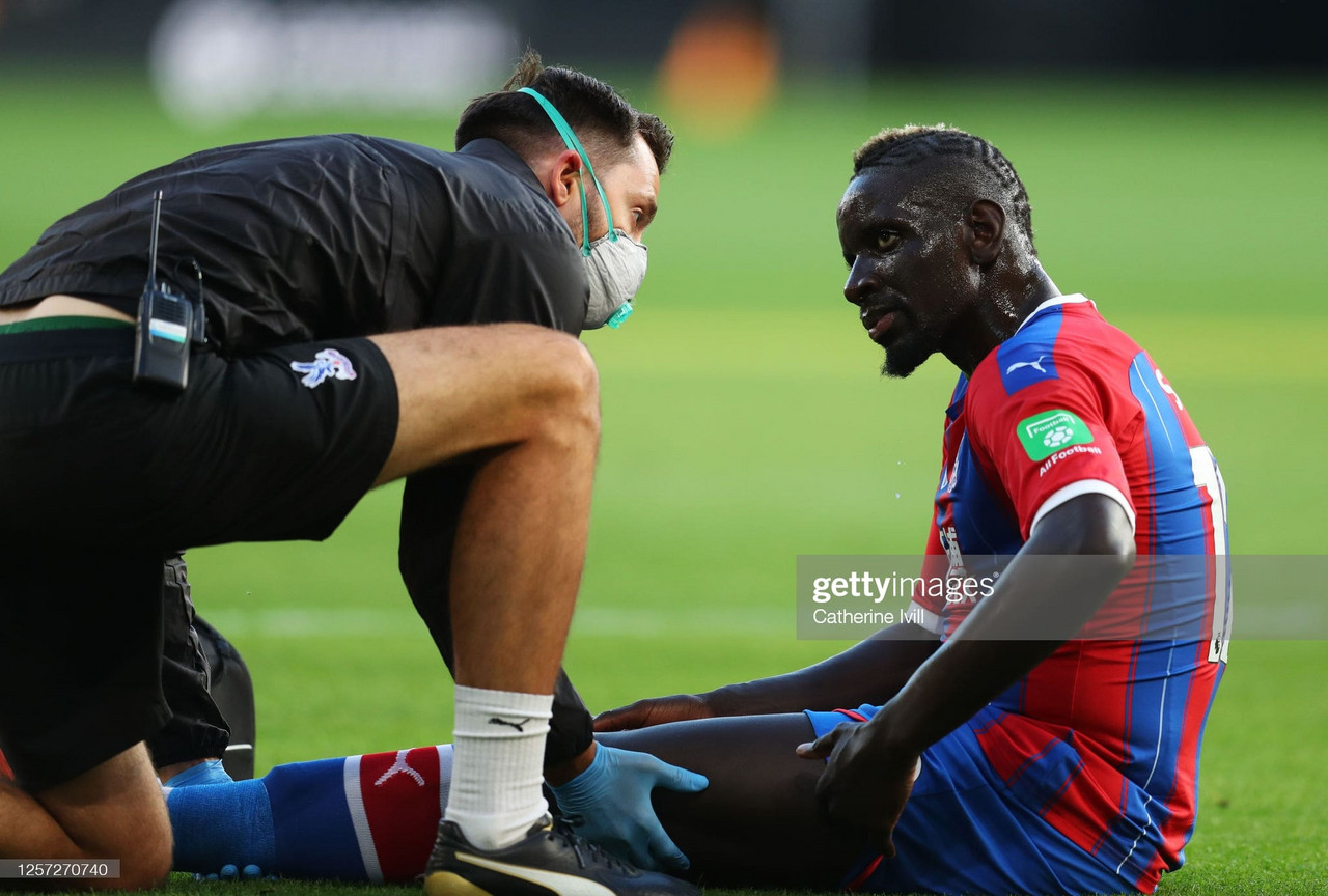 Roy Hodgson on whether Mamadou Sakho will return from injury this season