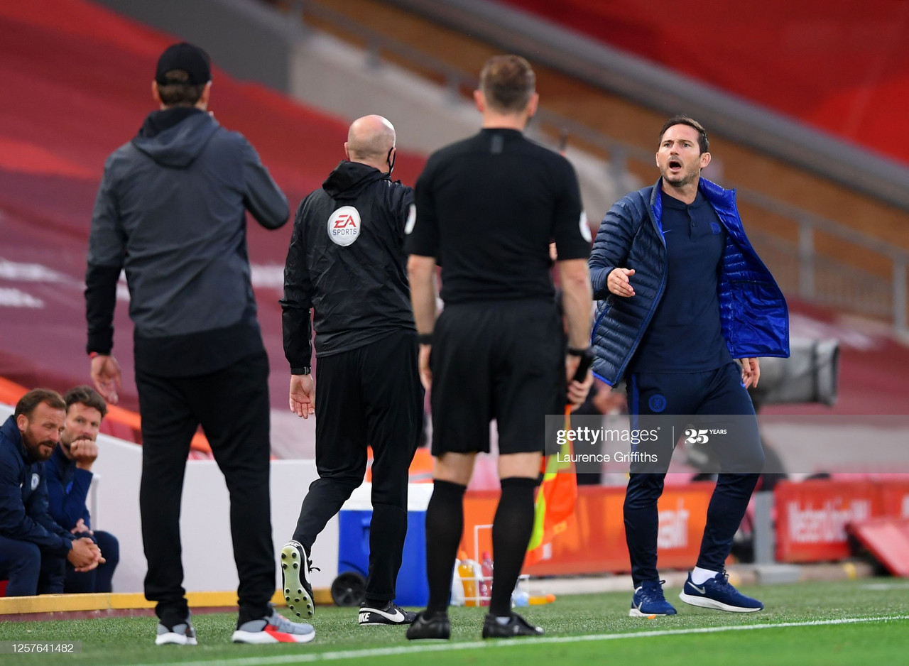 """Lampard: """"I have massive respect for Klopp, but my inner passion came out."""""""