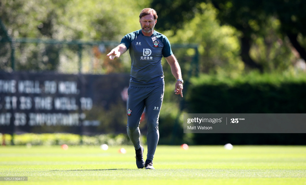Southampton's Ralph Hasenhuttl nominated for manager of the month