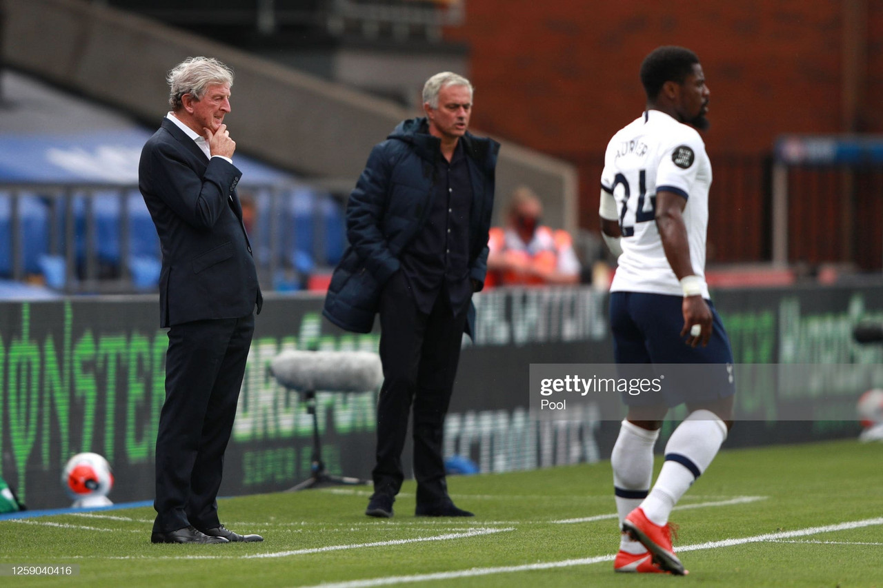 """Hodgson responds to Jose Mourinho's comments that Crystal Palace """"don't feelpressure"""""""
