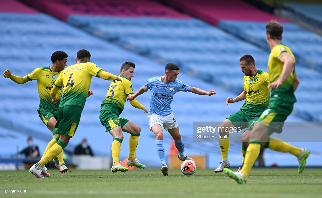 Manchester City vs Norwich City preview: How to watch, team news, kick-off time, predicted line-ups and ones to watch