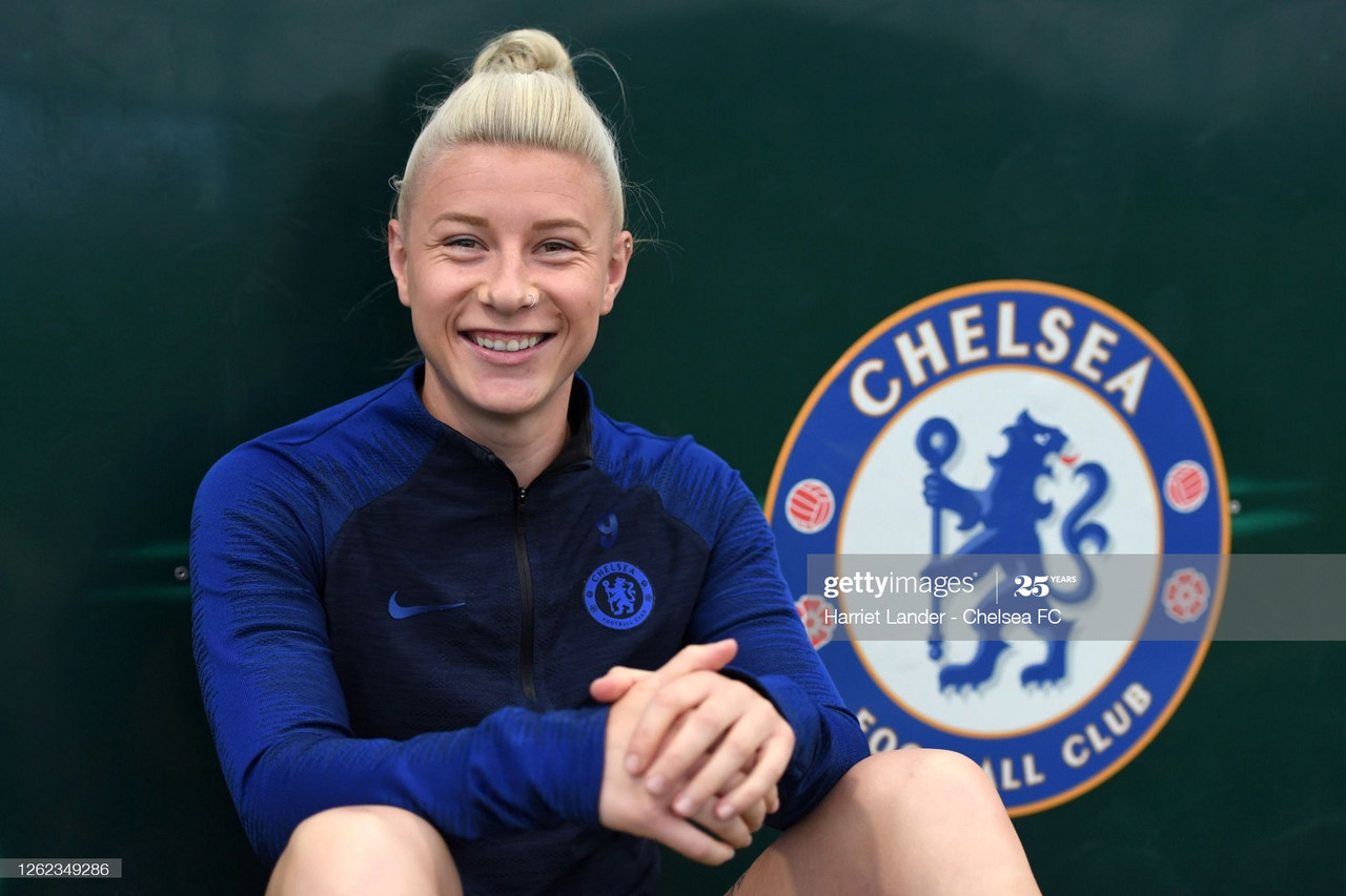 From working in a chip shop to winning WSL Player of the Year: It has been quite the journey for Bethany England