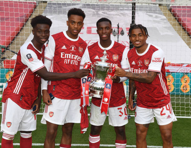 Arsenals next generation- Hale End Academy.