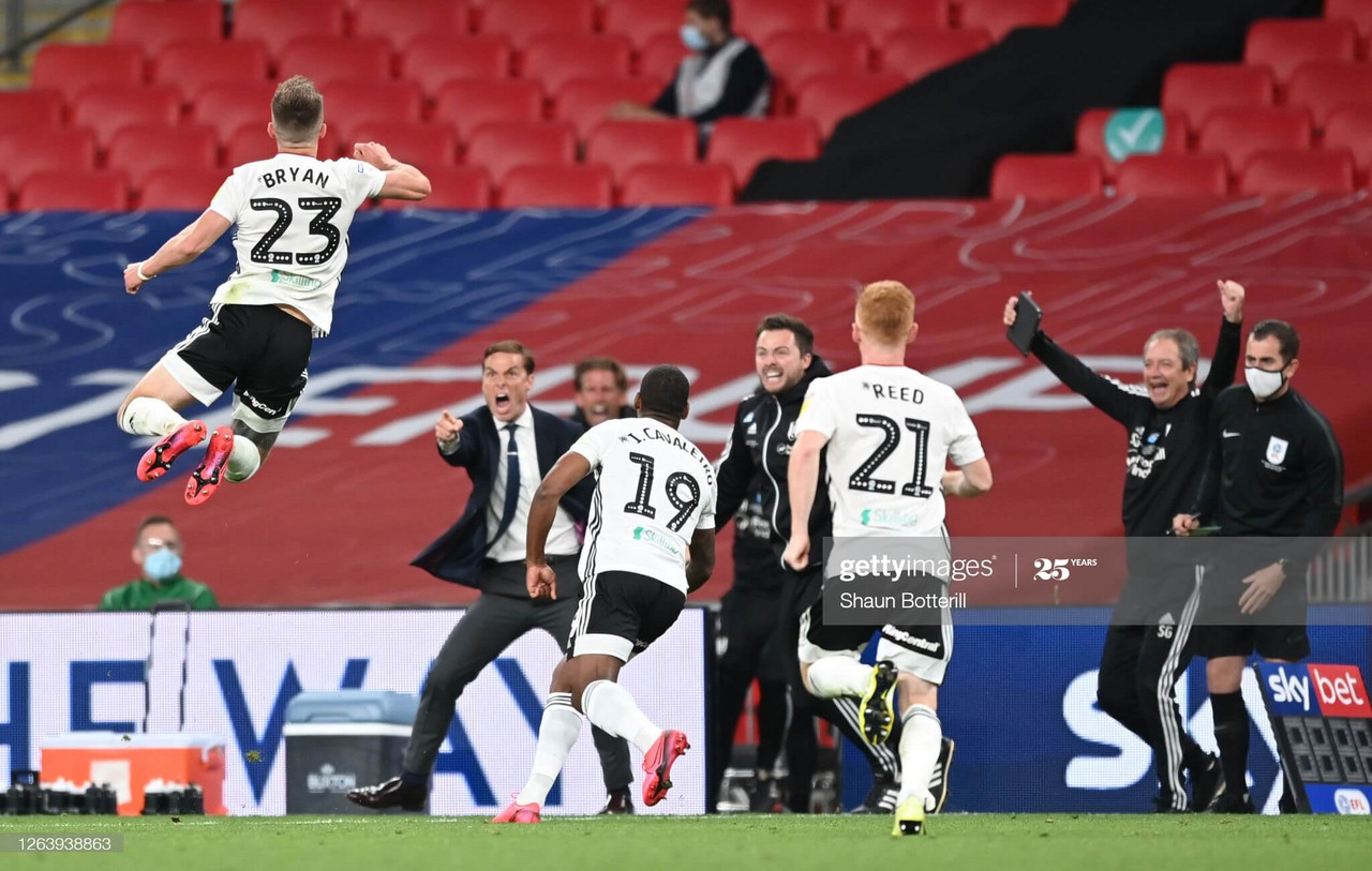Parker 'So, so proud' of his Fulham side after extra-time Wembley win