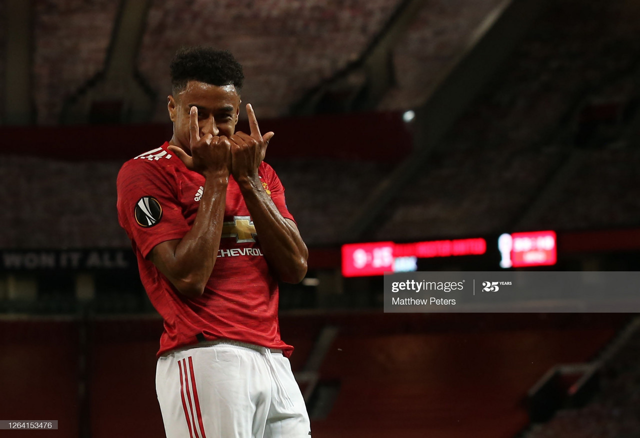 Manchester United 2-1 LASK [7-1]: Martial and Lingard strike as United cruise into quarter-finals