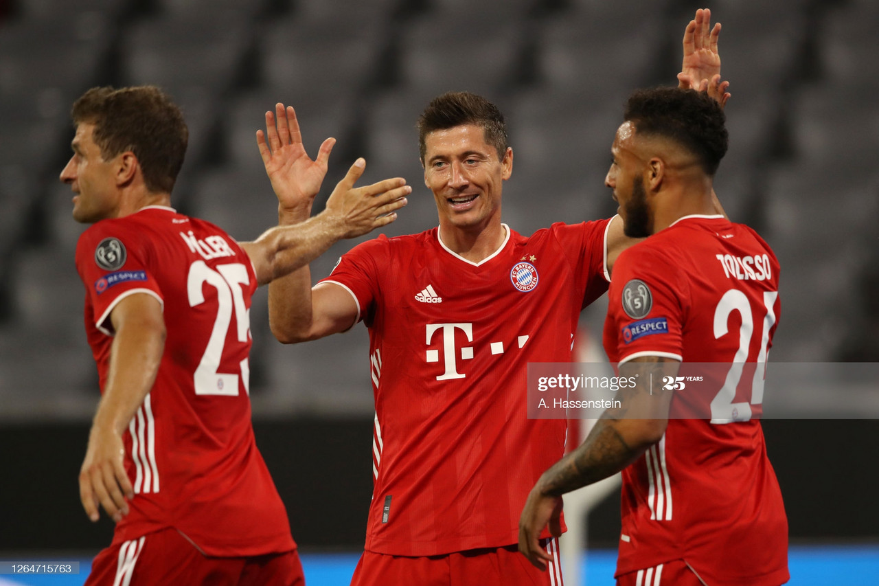Bayern Munich 4-1 Chelsea [7-1] Match Report - Munich easily advance to the Champions League quarterfinals