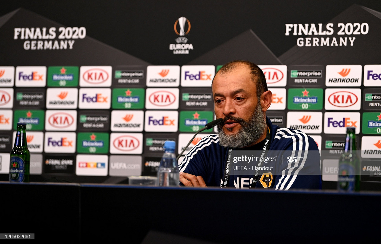 "Nuno Espirito Santo: ""We are working, the squad is not complete yet"""