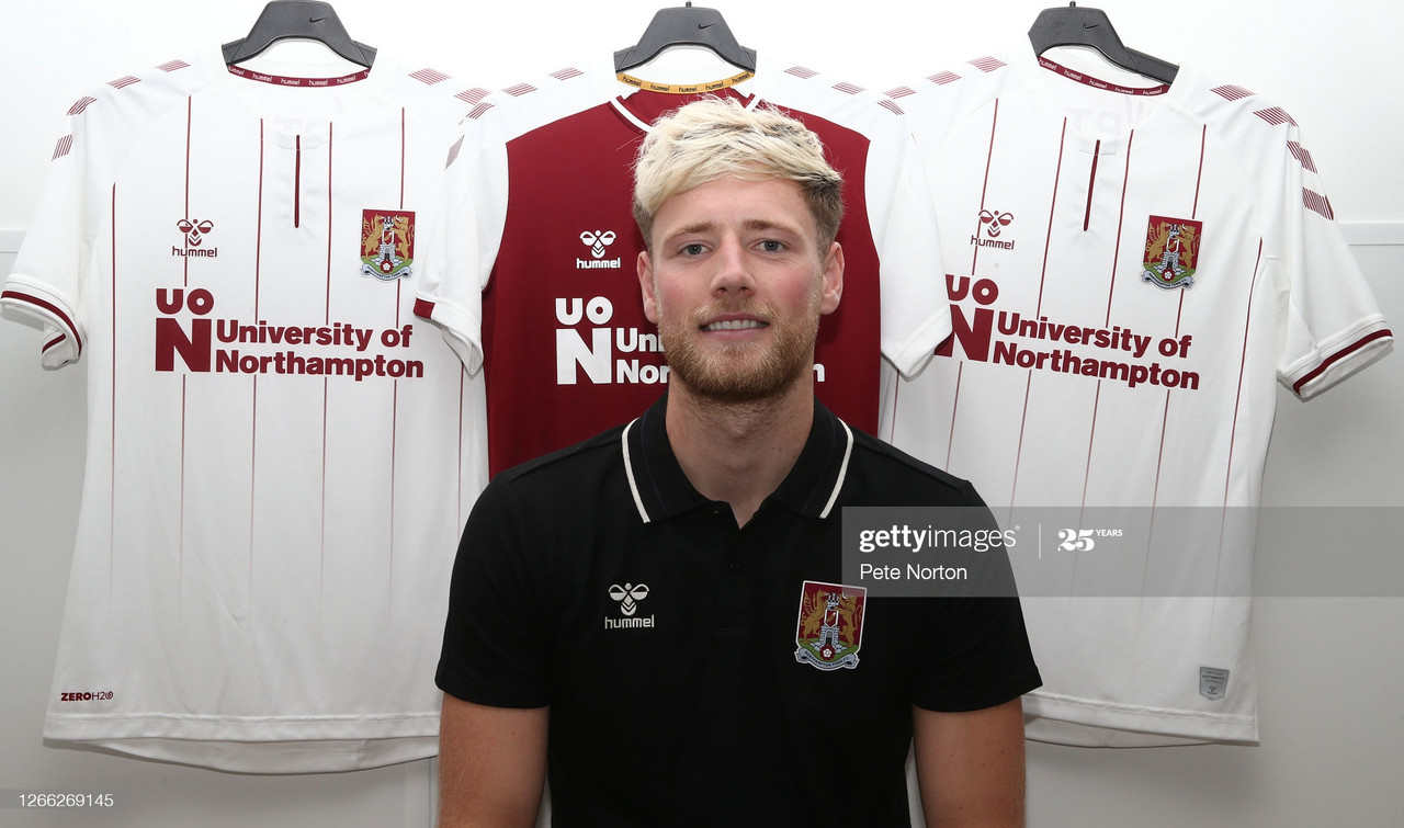 Northampton Town sign highly rated central defender Fraser Horsfall