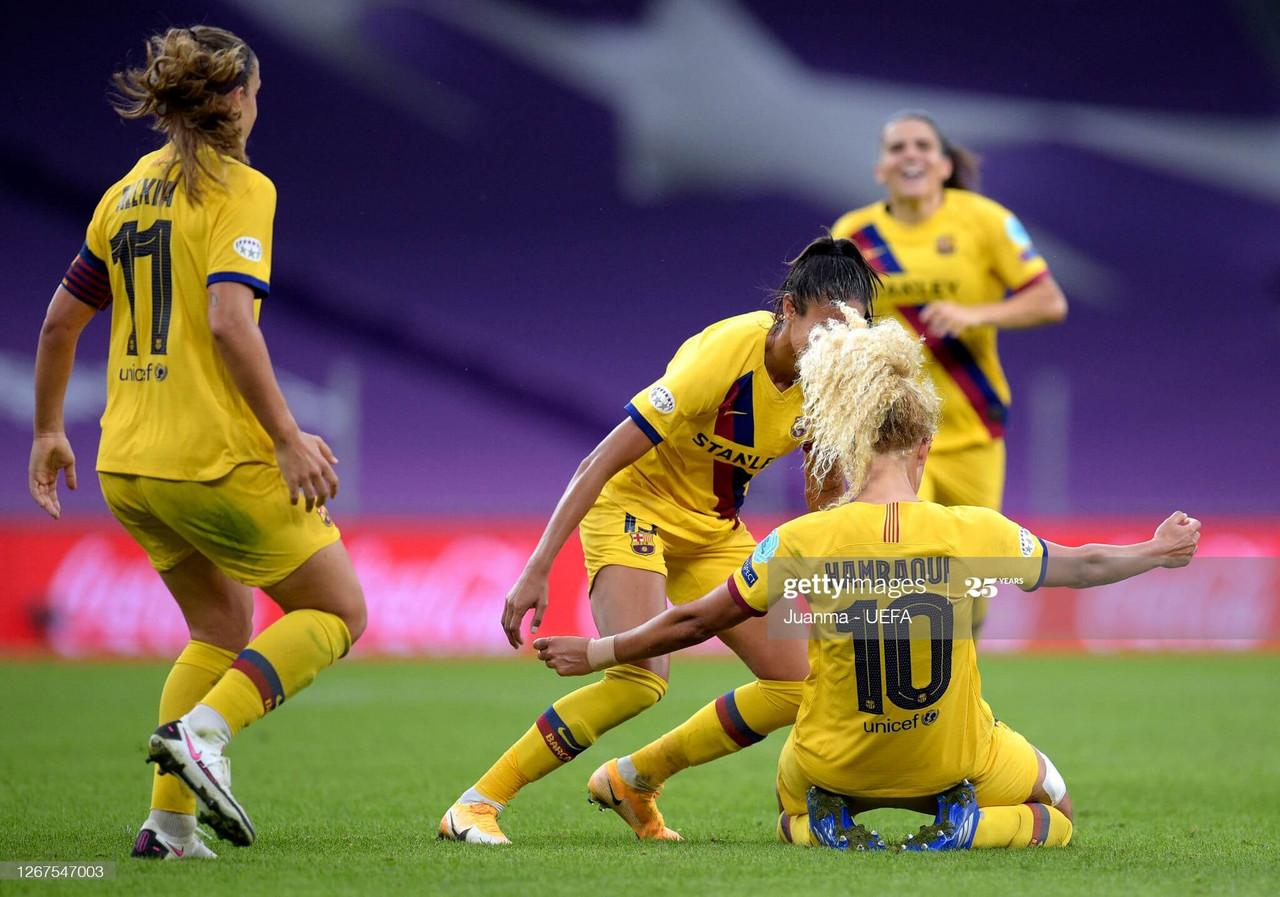 Atletico Madrid 0-1 FC Barcelona: Hamraoui's goal sends Barca into the semis