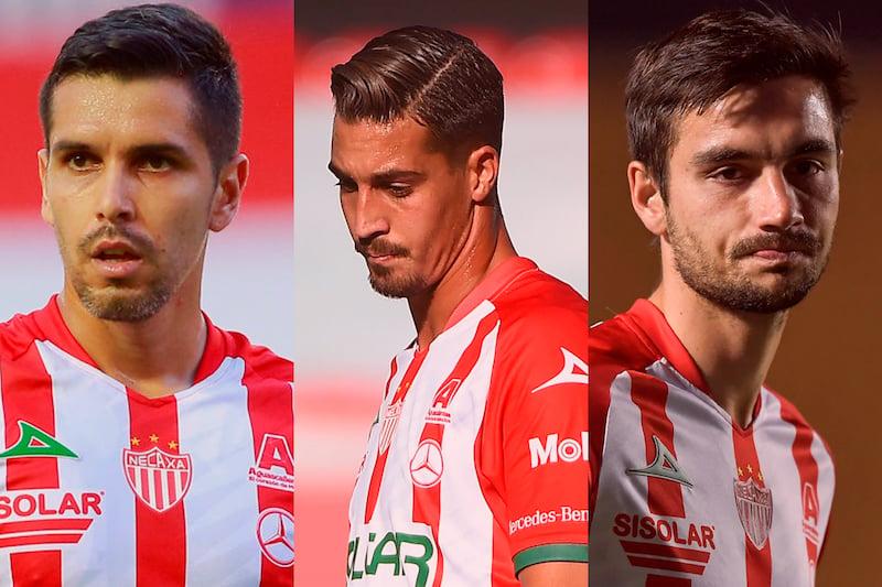 David Cabrera, Ian González y Unai Bilbao encabezan las bajas de Necaxa