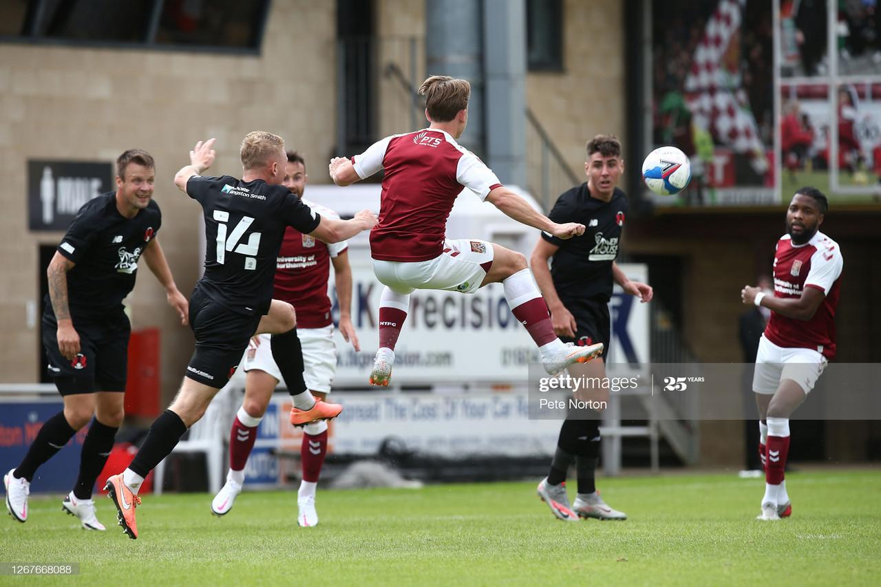 Northampton Town 1-0 Leyton Orient: Cobblers victorious in pre-season friendly