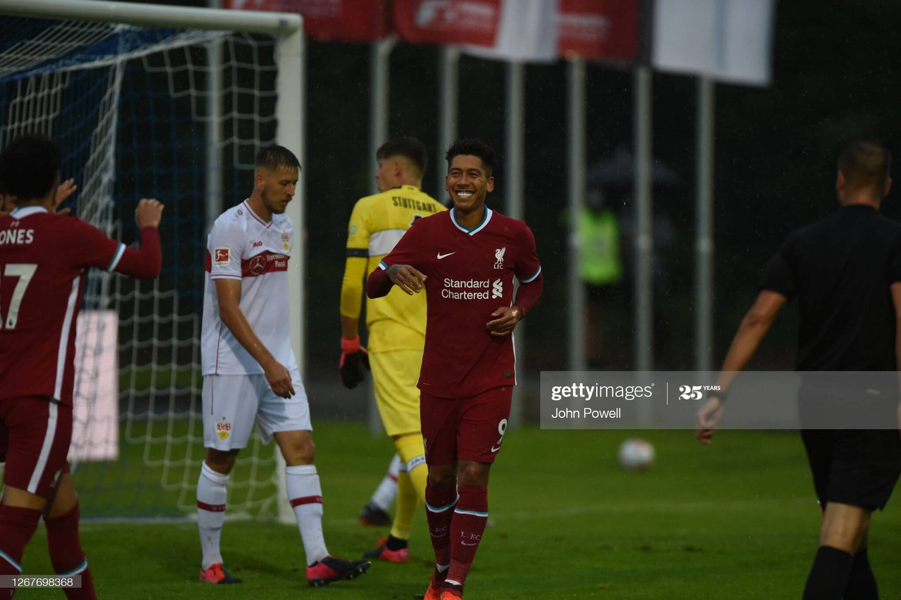Liverpool 3 0 Vfb Stuttgart Reds Ease To Victory In First Game Of Pre Season Vavel International