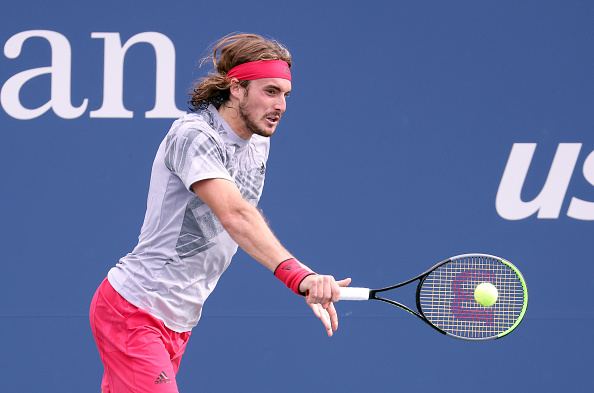 US Open: Stefanos Tsitsipas impresses in opening round victory