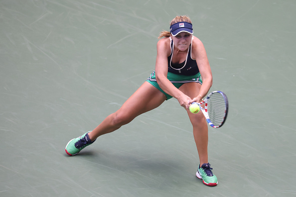 US Open: Sofia Kenin breezes past Yanina Wickmayer