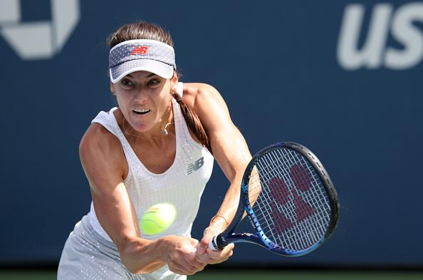 US Open: Sorana Cirstea battles past Johanna Konta in gruelling contest