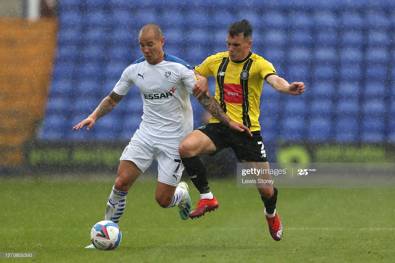 Tranmere Rovers 1-1 Harrogate Town (7-8 pens): Josh Falkingham keeps his cool as Town win on penalties in Carabao Cup debut