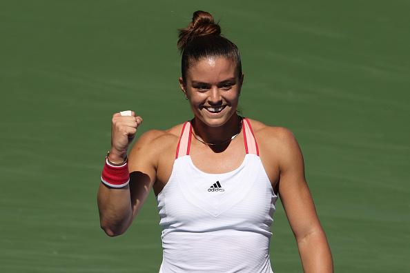 US Open: Maria Sakkari steamrolls past Amanda Anisimova