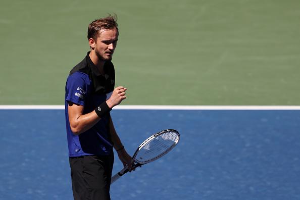US Open: Daniil Medvedev cruises into round four