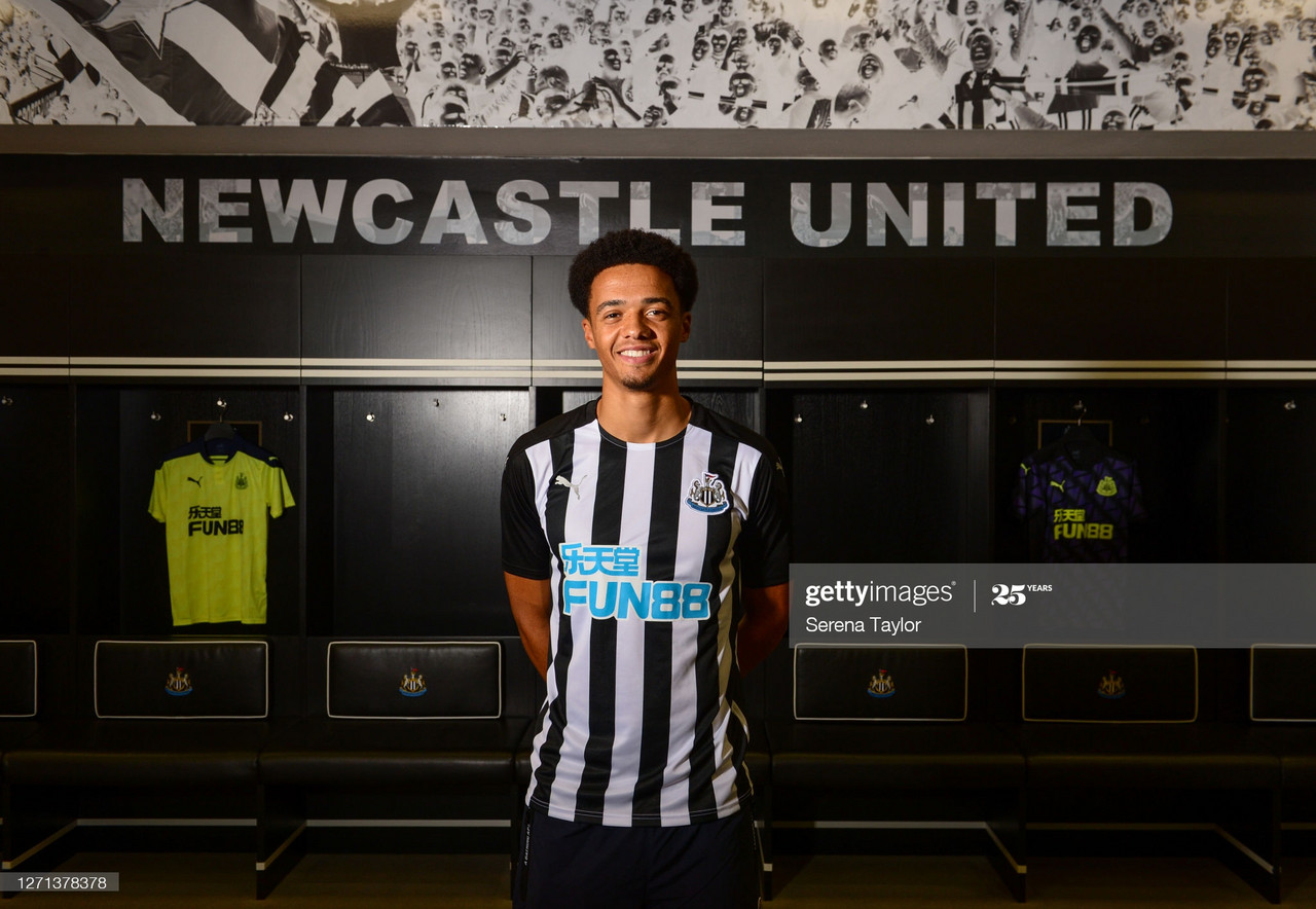 Max Aarons sends emotional Twitter message after seeing Newcastle sign Jamal Lewis