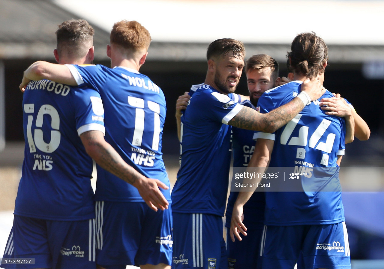 Ipswich Town 2-0 Wigan Athletic: Chairboys ease to victory