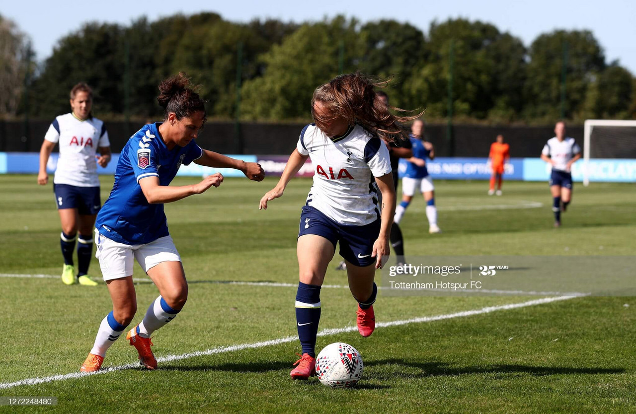 Everton Women 1-0 Tottenham Hotspur Women: Izzy Christiansen header earns Toffees hard-fought victory over Spurs