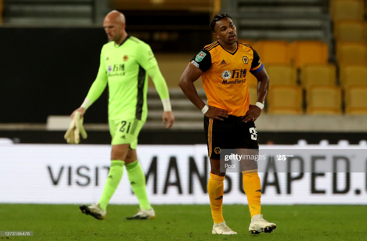Wolverhampton Wanderers 0-1 Stoke City: Jacob Brown's Late Strike knocks The Wanderers out.