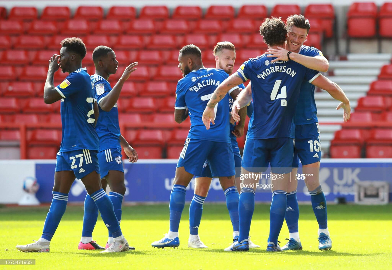 Nottingham Forest 0-2 Cardiff City: Moore brace leads dominant Bluebirds to all three points