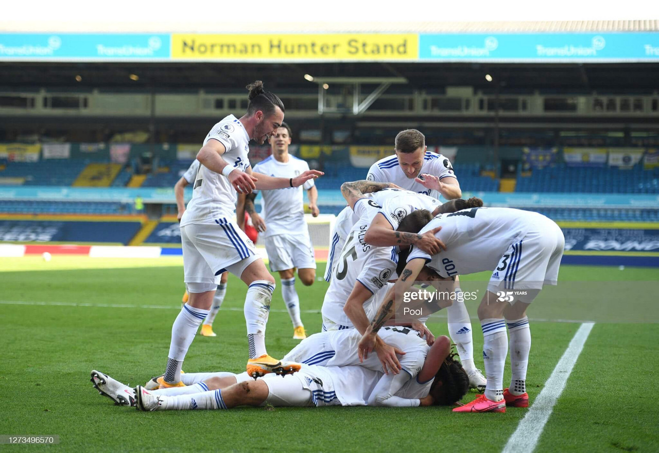 Leeds United 4-3 Fulham: Whites claim all three points in seven-goal thriller at Elland Road