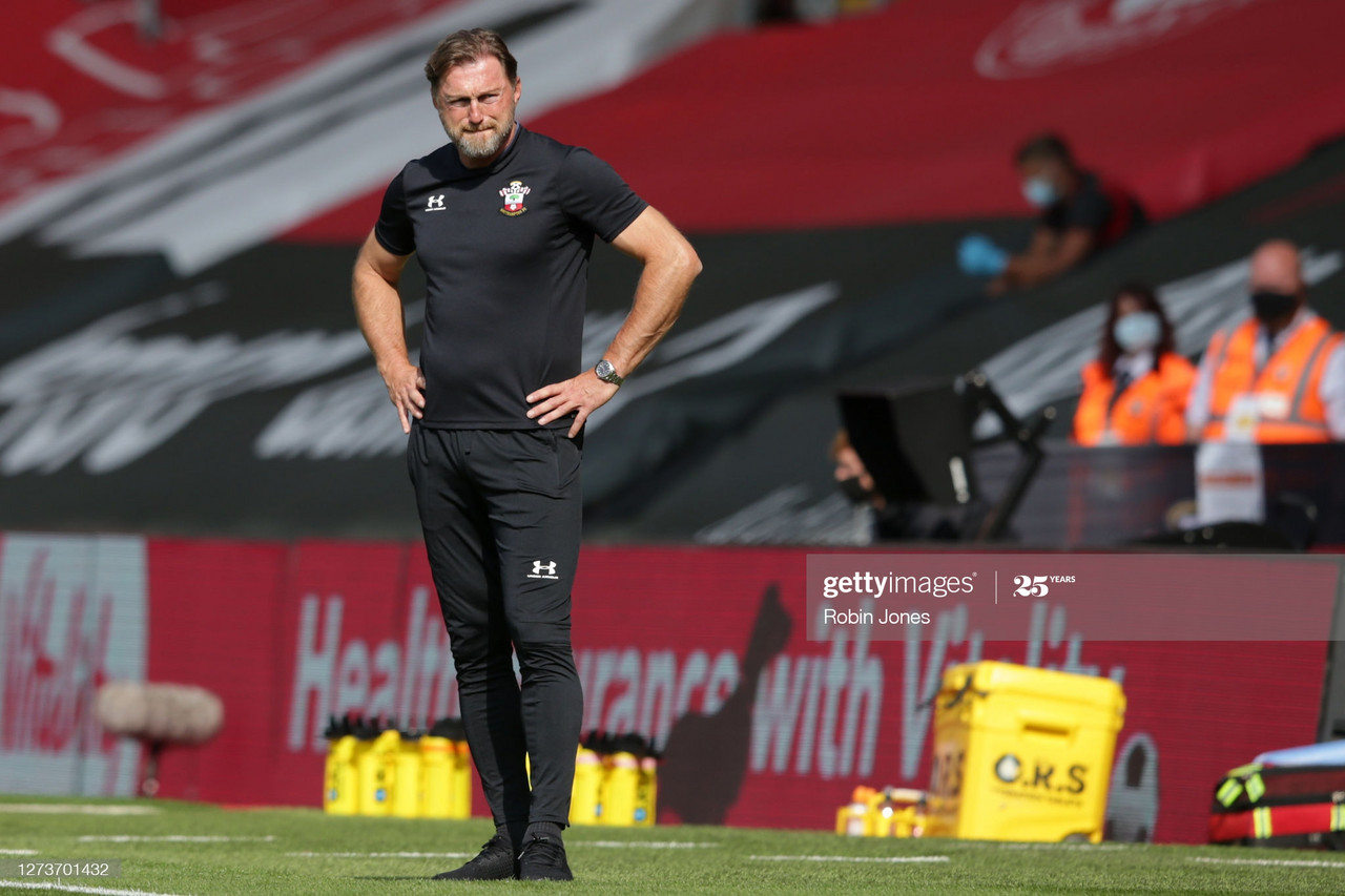 Ralph Hasenhuttl confirms Southampton looking at bringing in new attacker