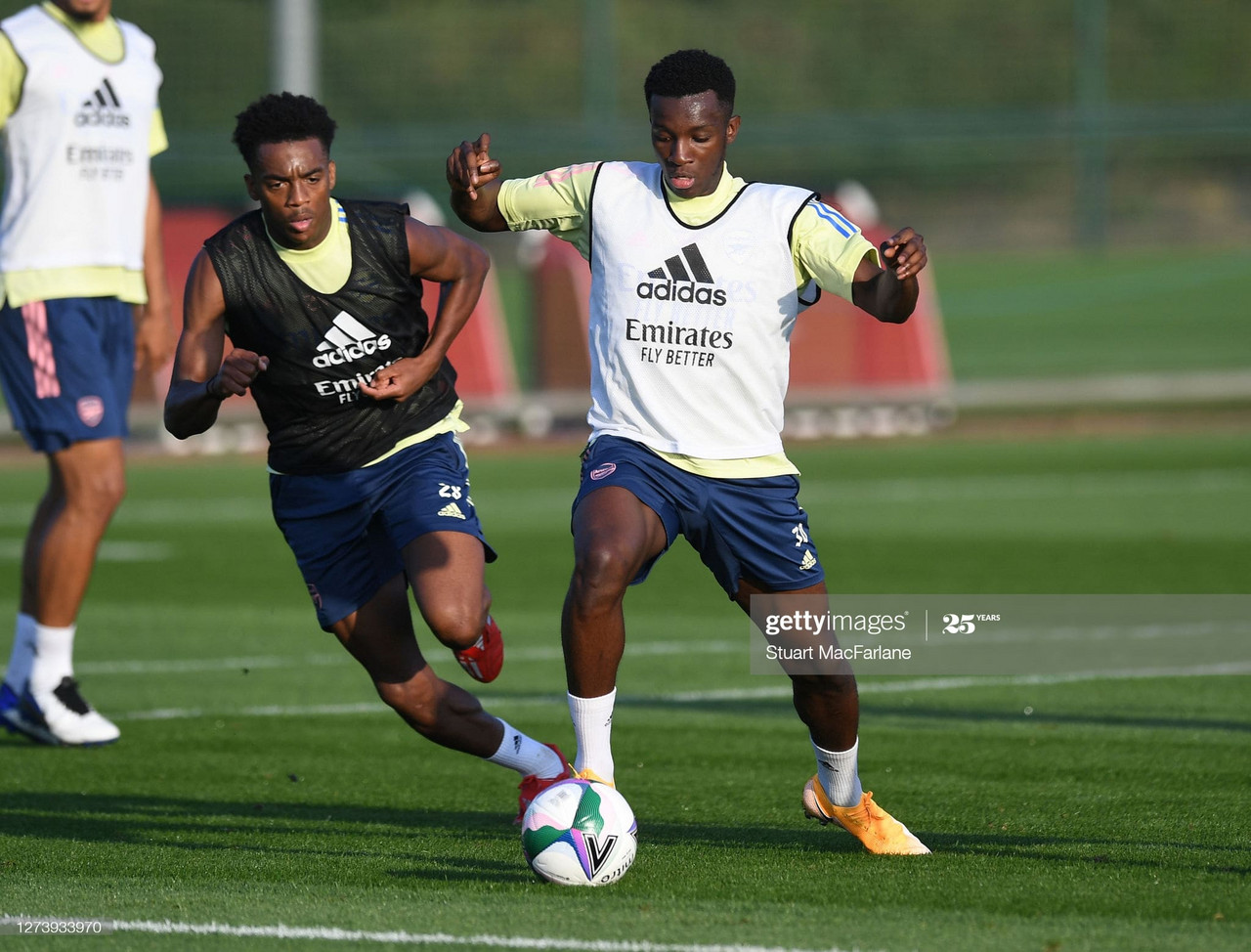 Opinion: Eddie Nketiah should displace Lacazette as starting forward