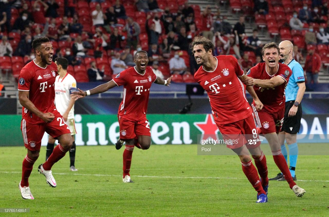 Bayern Munich 2-1 Sevilla Report: Munich win the 2020 UEFA Super Cup