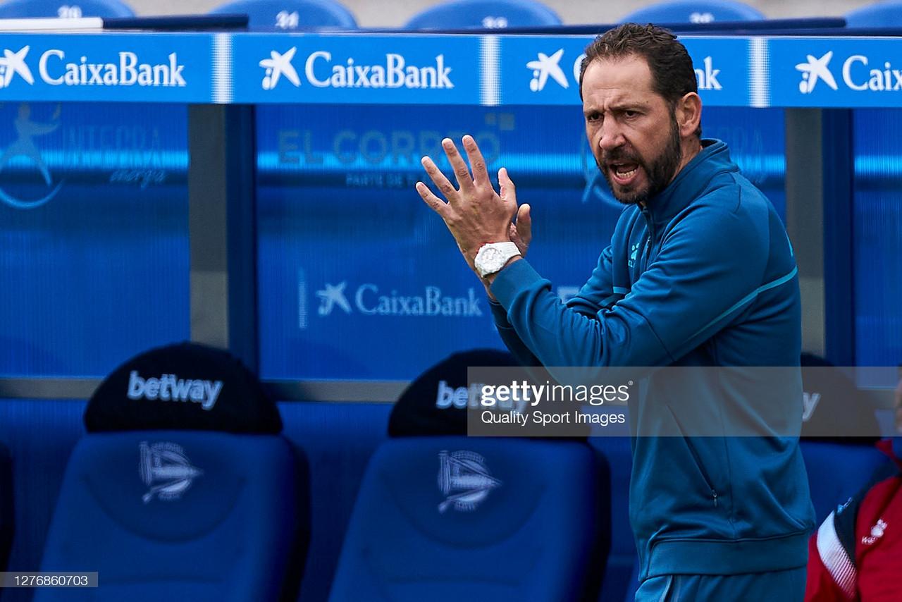 "Pablo Machín: ""Tenemos que volver a ser un equipo competitivo"""