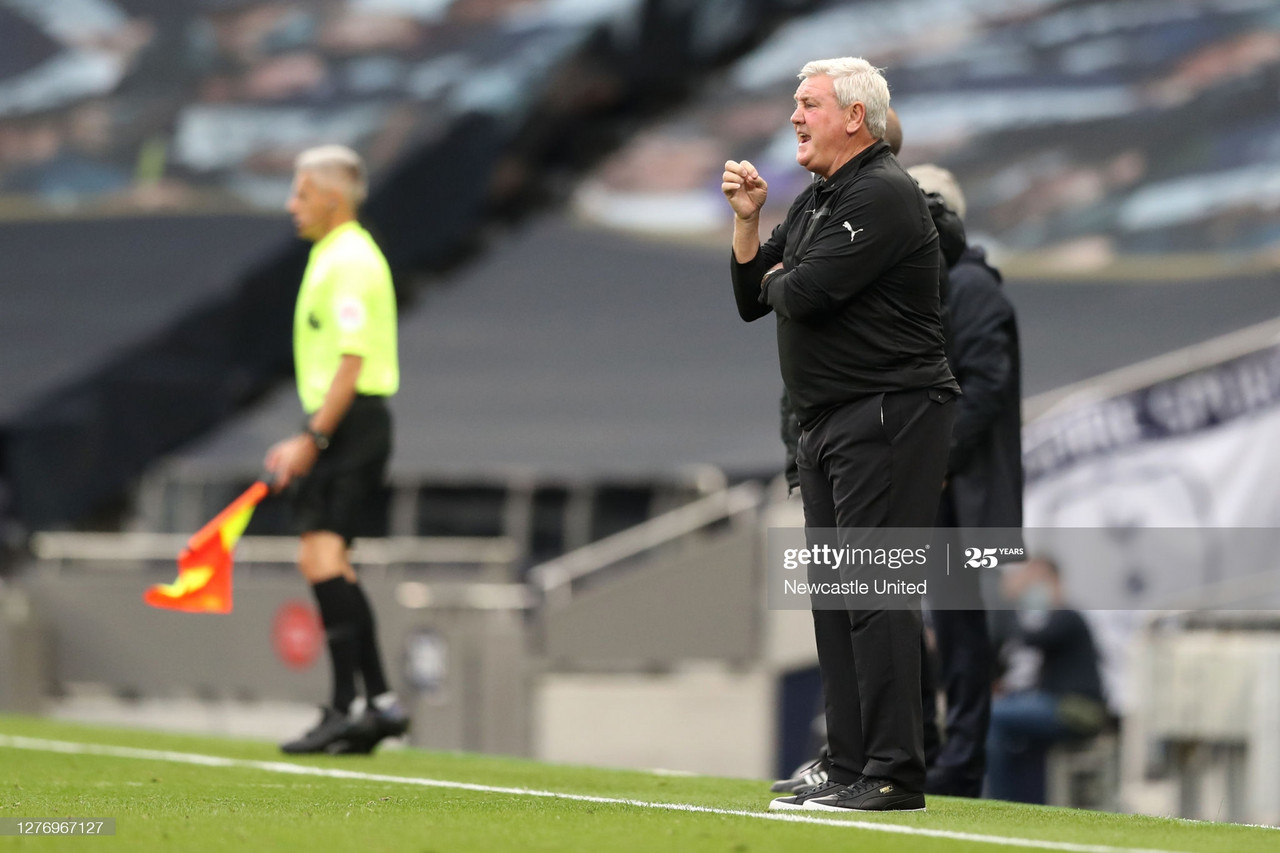 Bruce disagrees with penalty call which went Newcastle United's way