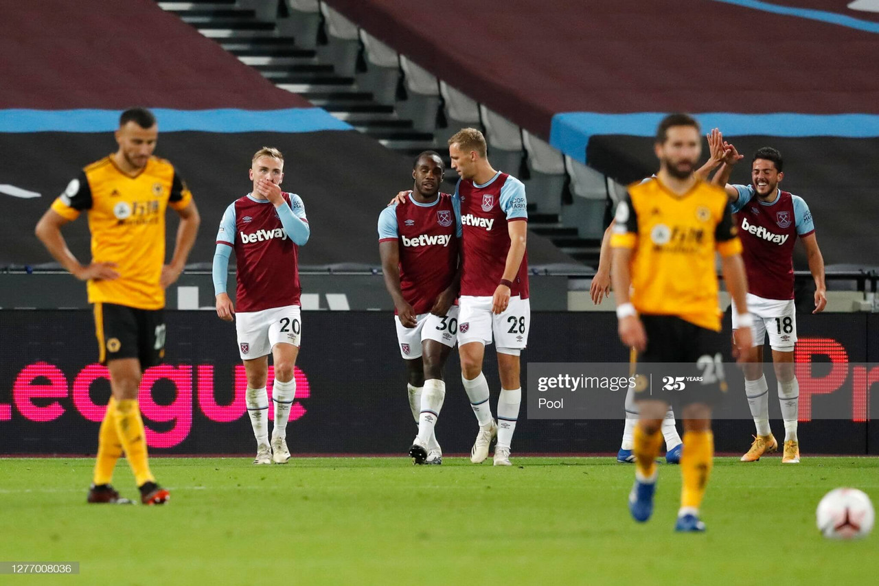 As it happened: West Ham United 4-0 Wolverhampton Wanderers in the Premier League