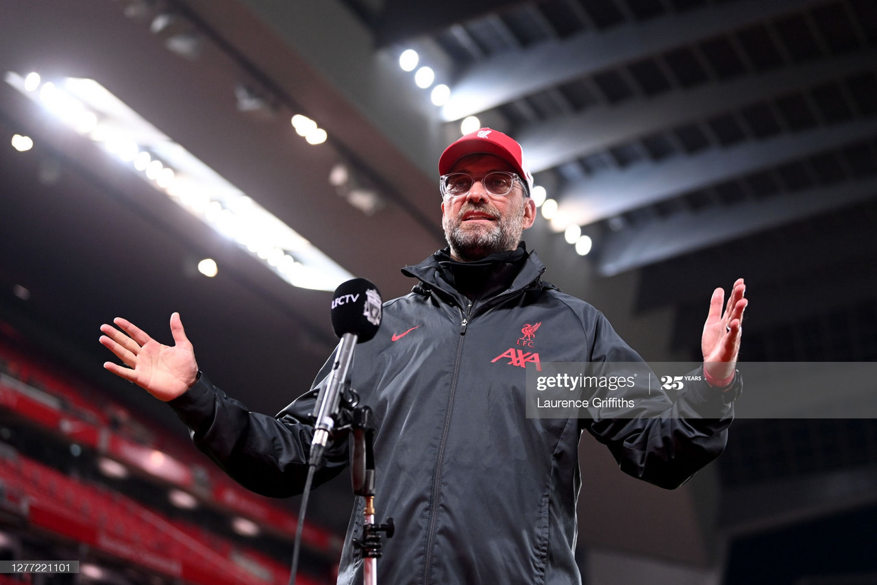 The five key quotes from Jurgen Klopp's post-Arsenal press conference