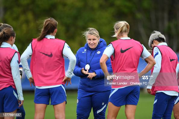 """I don't want to sit and watch everyone win, I want to do it myself."" - Emma Hayes' Chelsea are back in the UWCL"